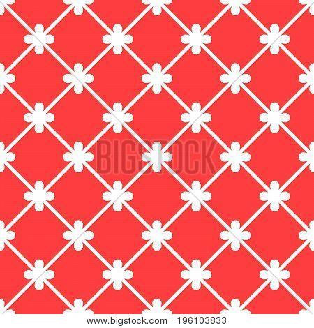 Red spanish ornamental decorative ceramic tile vector design
