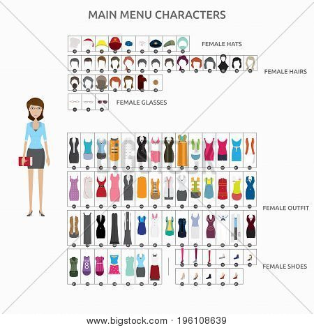 Character Creation Teacher   set of vector character illustration use for human, profession, business, marketing and much more.The set can be used for several purposes like: websites, print templates, presentation templates, and promotional materials.