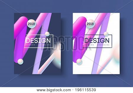 Abstract business Brochure design vector template in A4 size. Document or book cover. Annual report with photo and text.