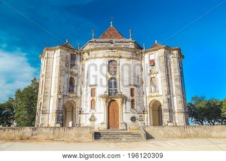 Santuario do Senhor Jesus da Pedra (Our Lord Jesus of the Stone Sanctuary) in Obidos, Portugal