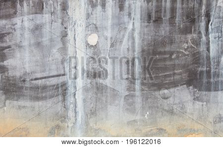 Close up abstract texture background old black cement