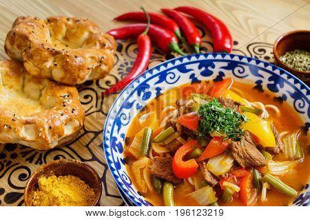 uzbek soup