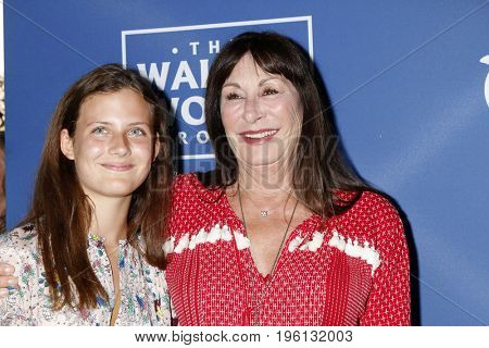 LOS ANGELES - July 17:  Stella Huston, Anjelica Huston at the Oceana Presenst: Rock Under The Stars With Don Henley And Friends at the Private Residence on July 17, 2017 in Los Angeles, CA