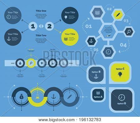 Management diagram. Business data. Creative concept for infographic, various business templates, presentation, marketing, annual report. Can be used for topics like economics, start-up, enterprise
