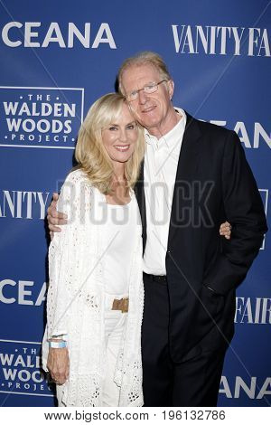 LOS ANGELES - July 17:  Rachelle Carson, Ed Begley Jr at the Rock Under The Stars With Don Henley And Friends at a Private Residence on July 17, 2017 in Los Angeles, CA