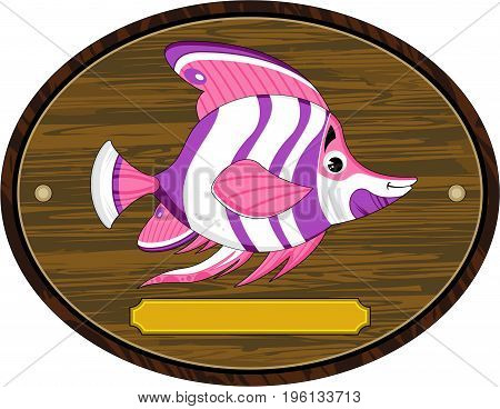 Striped Fish On Mount