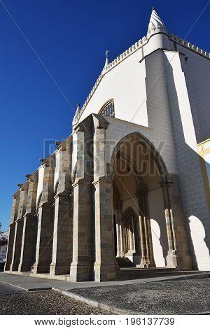 Church Of St. Francis In Evora, Portugal
