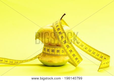 Measured Bitten Apple