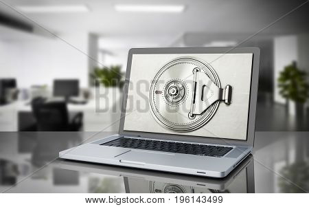 The Concept Of A Secure Online Banking Money And Cards Behind The Open Door Of The Bank Vault On The