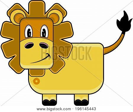 Funky Lion.eps