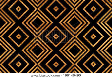 Geometrical Golden Pattern.