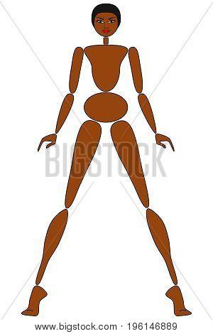Female mannequin for fashion design - POSITION 03