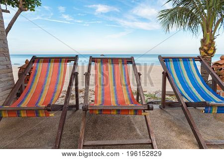Lounge Chairs With Swimming Pool