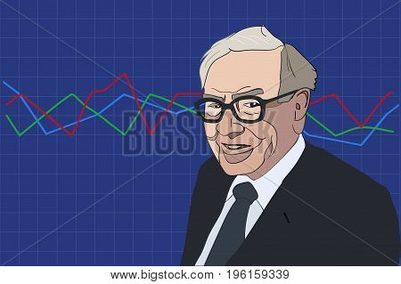July 2017: Famous Investor And Economist Warren Buffett Forecasts Stocks Market Index Will Continue