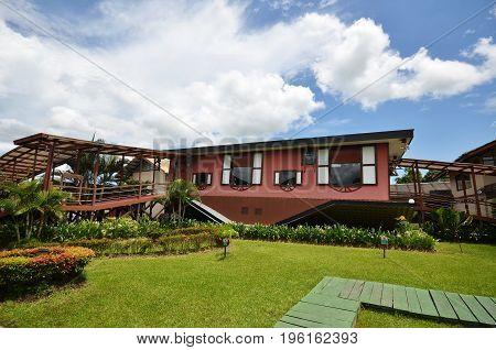 Upside Down House At Tamparuli, Sabah