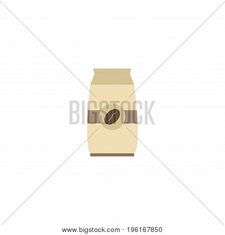 Flat Icon Package Element. Vector Illustration Of Flat Icon Seed Pack Isolated On Clean Background