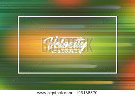 Velocity vector background 04. High speed and Hi-tech abstract technology concept background. Vector illustration