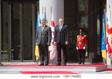 State Visit Of The President Of Ukraine To Georgia.