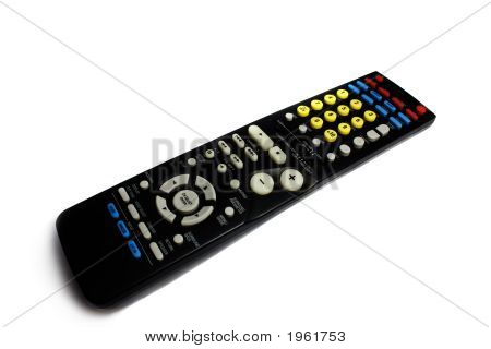Black Remote Control Keypad For Reciever