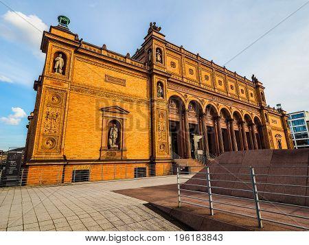 Hamburg Kunsthalle Art Museum Hdr