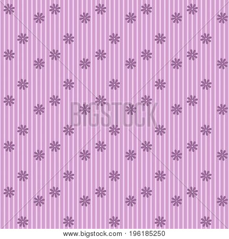 Cute Floral pattern of small flowers. Very small pink flowers on background.