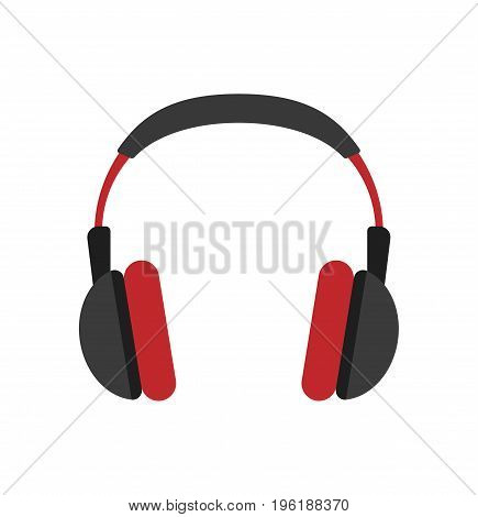 Headphone icon sign. Music concpet. Vector stock.