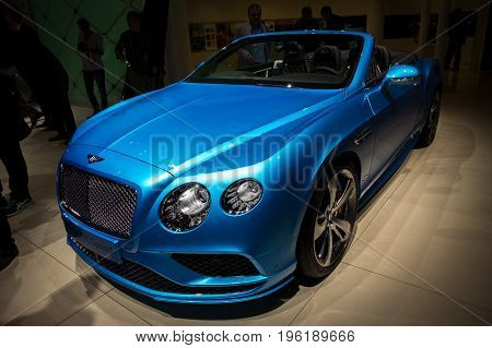 Bentley Continental Gt Speed Car