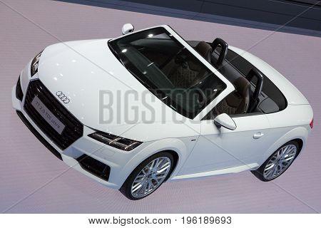 Audi Tt Convertible Car
