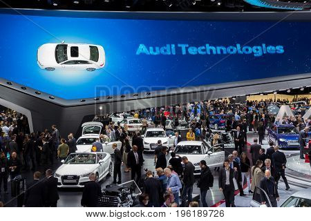 Audi Hall Visitors Frankfurt Iaa Motor Show