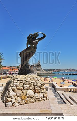 The Portuguese Discoveries Monument In Cascais, Portugal