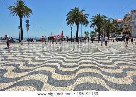 Promenade In Cascais Portugal