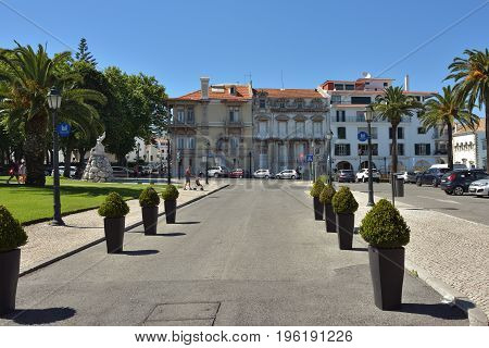 Cascais Street, Portugal