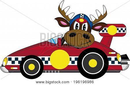 Reindeer Racing Driver 2