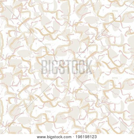 Marble white rock seamless white vector texture. Artificial stone grey and white vector background.