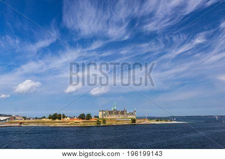 view of Kronborg castle - UNESCO World heritage