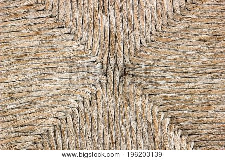 Texture Wicker Chair