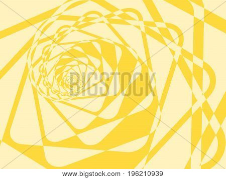Abstract Duotone Light Twirl Background. Vector Illustration
