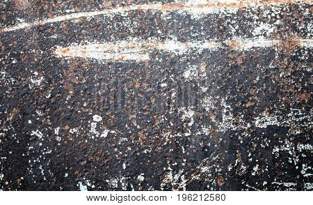 Abstract background of old rusty metal. texture