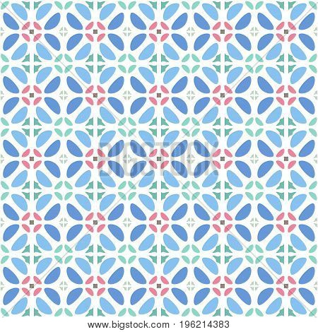 Vector pattern - colorful seamless geometrical background. Possibility of change of your color. You can apply it in the wide range of use.Vector illustration.