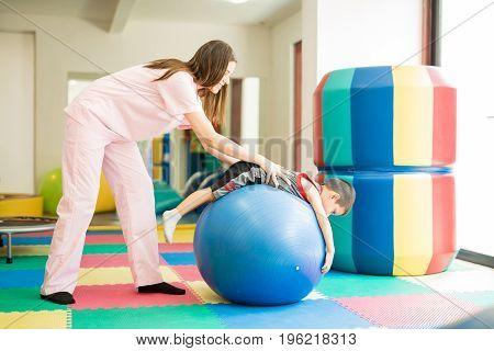 Helping An Autistic Boy Calm Down