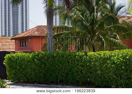 Private house, cottage, fence, roof, summer, beauty, rest