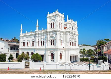 Sri Lanka Galle Fort Meeran Jumma Masjid mosque