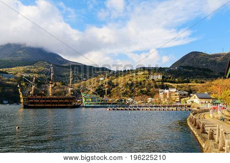 Pirate Sightseeing Ship, Hakone