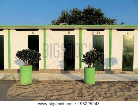 Rimini - Green Beach Cabins