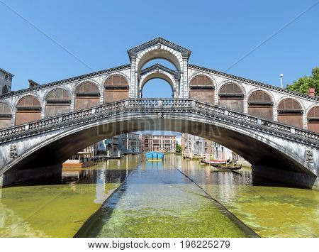 Rimini - Miniature Of Rialto Bridge