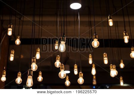 Many Light Bulbs Interior Design