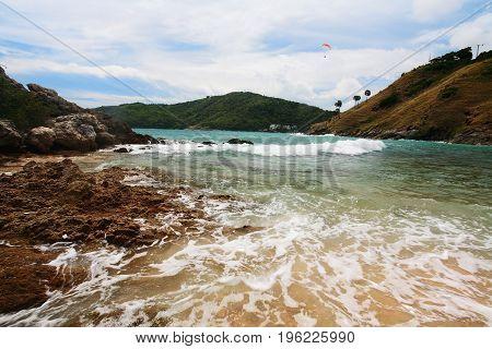 Seascape With Motion Wave, Phuket