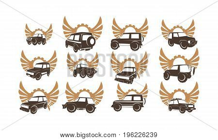 This image describe about Adventure Car Set Collections
