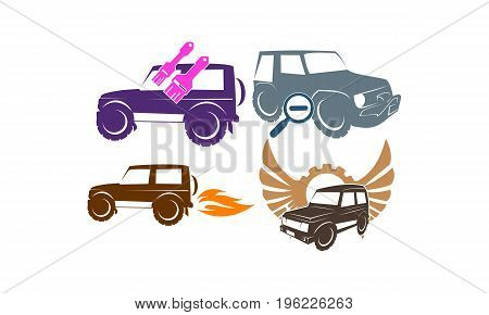 Jeep Car Service Wing Gear Paint Search Fire Collection2