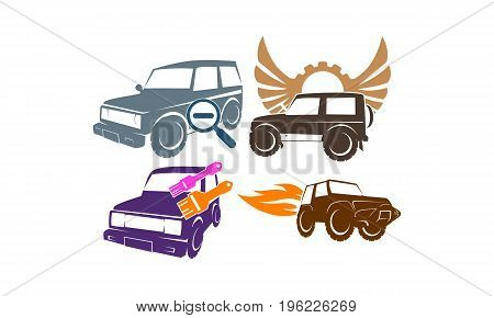Jeep Car Service Wing Gear Paint Search Fire Collection3